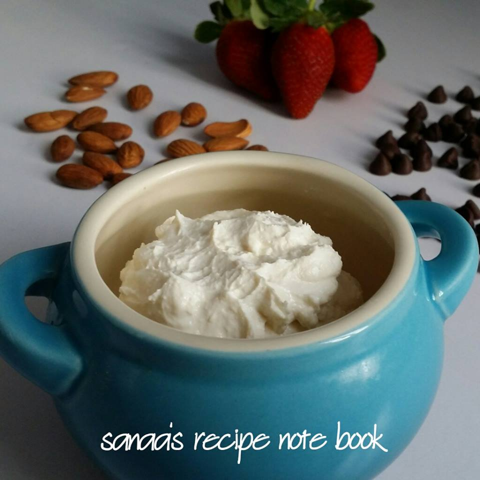 Homemade dairy products - sanaa's recipe